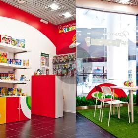 Дизайн магазина детского творчества