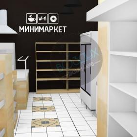 Продуктовый минимаркет