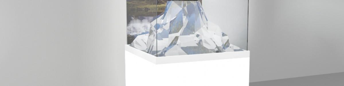 Дизайн витрины для ювелирного завода