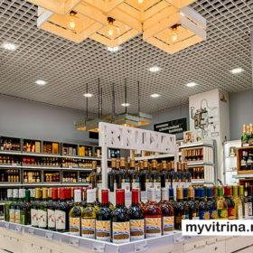 Дизайн алкогольного магазина «Пробка & Штопор»