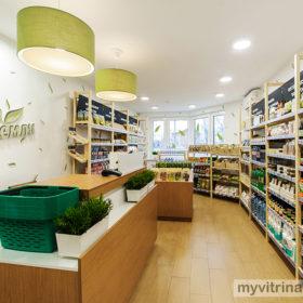 Комплексный дизайн магазина «Три Земли» г.Москва